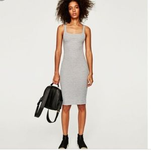 Zara Trafaluc Body Con Dress